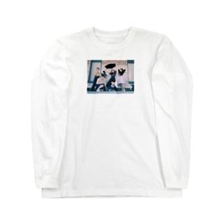 雪解けさん Long sleeve T-shirts