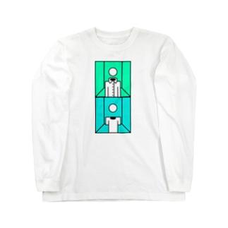 部屋とワイシャツと私とTシャツと私と部屋 Long sleeve T-shirts