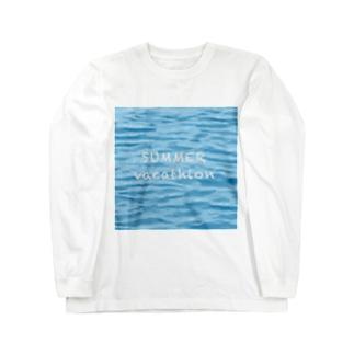 SUMMER vacathion Long sleeve T-shirts