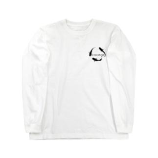 MEDAKARIUMコラボ1.5(白) Long sleeve T-shirts