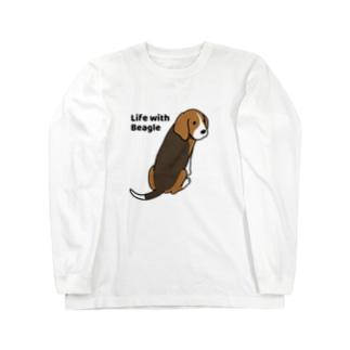 ビーグル2 Long sleeve T-shirts