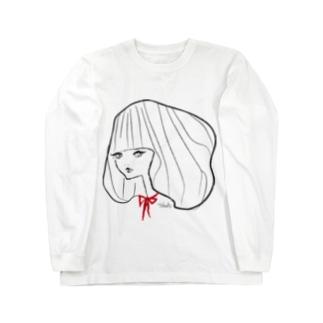 リボンちゃん@Takako Long sleeve T-shirts