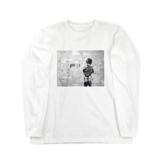 super me Long sleeve T-shirts