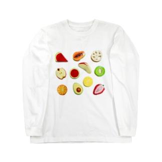 粘土のフルーツ Long Sleeve T-Shirt