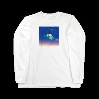 NOKIのラムネパンダ Long sleeve T-shirts