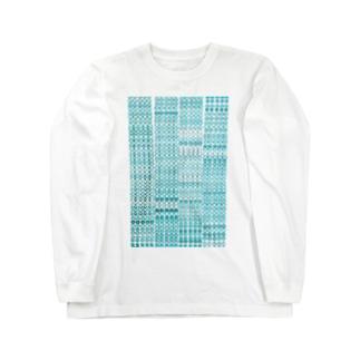 水玉ぼけ Long sleeve T-shirts