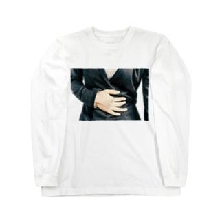 お腹いたい Long sleeve T-shirts