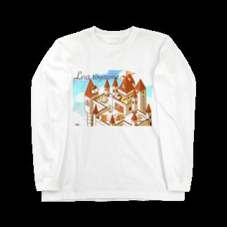 Lichtmuhleのモルモット達の王国(昼) Long sleeve T-shirts