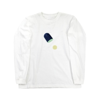 おくすり1錠 Long sleeve T-shirts