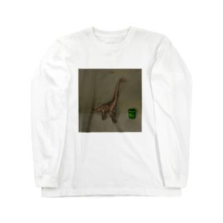 どっかんきょうりゅう Long sleeve T-shirts