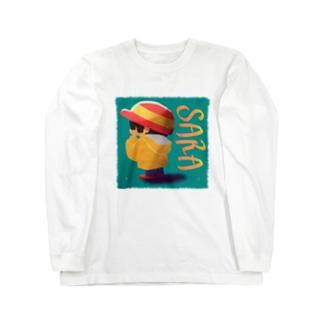 SARA Long sleeve T-shirts
