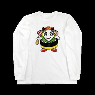 マニュアル車のちらっしー Long sleeve T-shirts