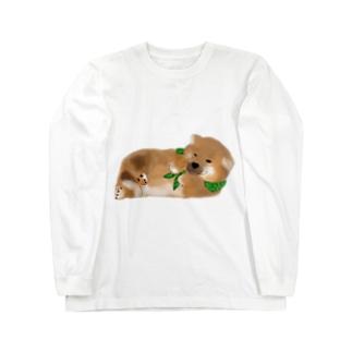 しば(どでか) Long sleeve T-shirts