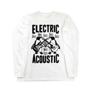 ELECTRIC×ACOUSTIC PENGUIN Long sleeve T-shirts