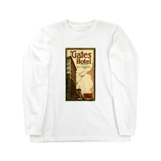 Advertisement, Gates Hotel, Los Angeles [cover] Long sleeve T-shirts