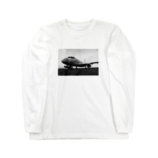 飛行機P-1哨戒機 Long sleeve T-shirts