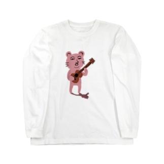 ぴん君 Long sleeve T-shirts