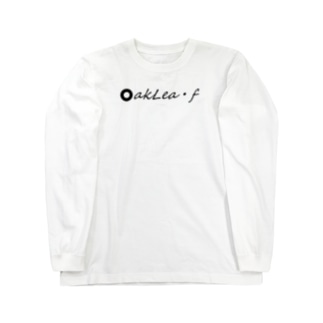 oak leaf Tシャツ Long sleeve T-shirts