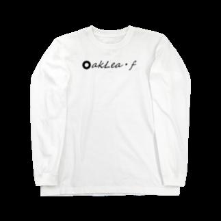 Fujinami Akiraのoak leaf Tシャツ Long sleeve T-shirts