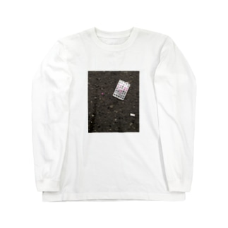 ピル乱気流 Long sleeve T-shirts