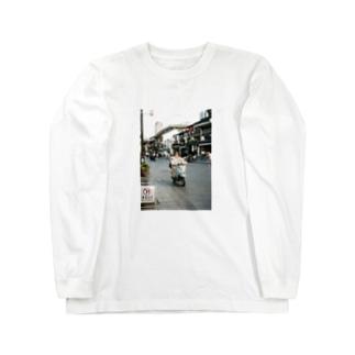 上海マダム Long sleeve T-shirts