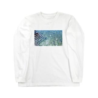 海の匂い Long sleeve T-shirts