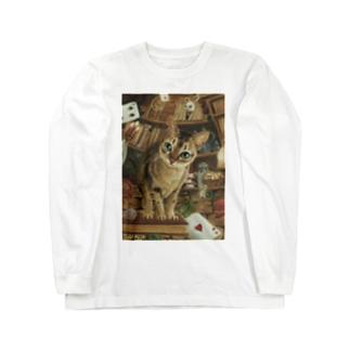 tokittyの不思議の国のあんず Long sleeve T-shirts
