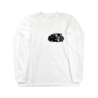 コルメキッサ杏ちゃんマークシリーズ Long sleeve T-shirts