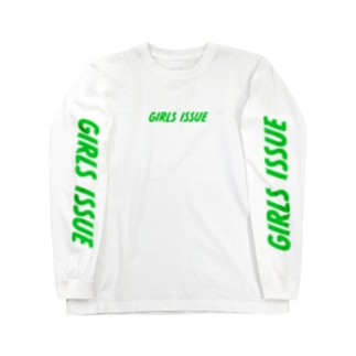 GIRLS ISSUE GREEN Long sleeve T-shirts