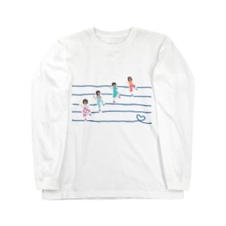 ラインダンス部 Long sleeve T-shirts
