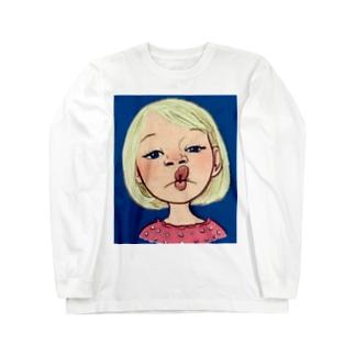 リトルガール Long sleeve T-shirts
