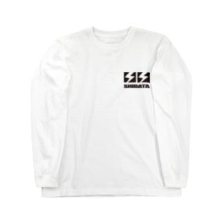 shibata_black Long sleeve T-shirts