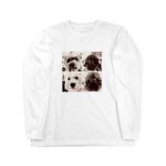 4匹の湘南ボーイ Long sleeve T-shirts