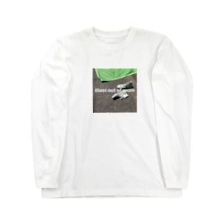 blast out of room Long sleeve T-shirts