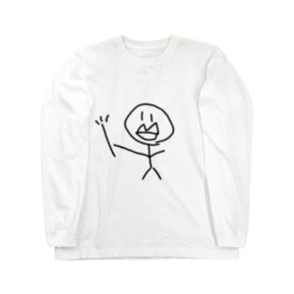 魔法の杖を持った美少女 Long sleeve T-shirts