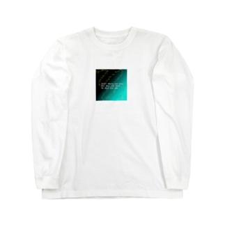 天の川 Long sleeve T-shirts
