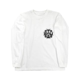 十字キー Long sleeve T-shirts