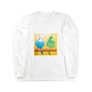 仲良しコンビ Long sleeve T-shirts