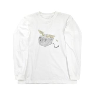 空飛ぶ炊飯器 Long sleeve T-shirts