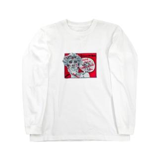 ダビデちん Long sleeve T-shirts