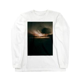 宇宙との交信 Long sleeve T-shirts