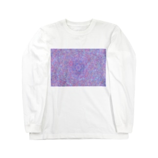 万華鏡柄 Long sleeve T-shirts