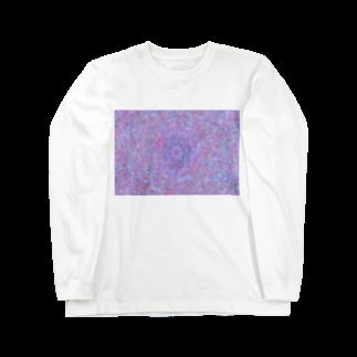 Miracke Happy Bareの万華鏡柄 Long sleeve T-shirts
