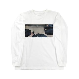 なかよしこよし Long sleeve T-shirts