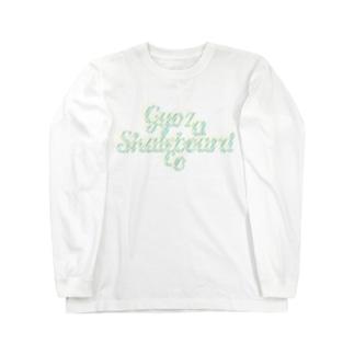 GYOZA SKATEBOARDS CO / LOGO DESIGN Long sleeve T-shirts