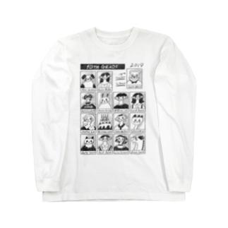 どこかのだれかの卒業アルバム Long sleeve T-shirts