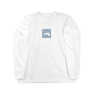 Gunメッセージ Long sleeve T-shirts