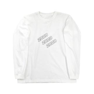 ミレニアム Long sleeve T-shirts