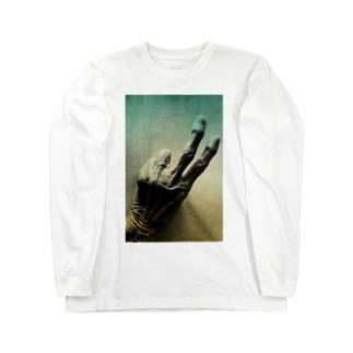 老人の手40 Long Sleeve T-Shirt