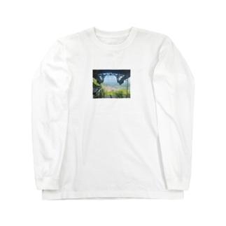 思い出のばしょ Long sleeve T-shirts